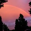 San Dimas sunsets &amp; rainbows : This gallery has photos I've taken of great  sky views in Tiburonfrom sunsets and clouds to rainbowsover the last few years. See photo info for date taken. Sky and/or landscape photos shot elsewhere are in specific galleries.