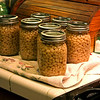 Canning white beans (toot-toot) : Canning pints of small white beans; lots cheaper and less salt than storebought!